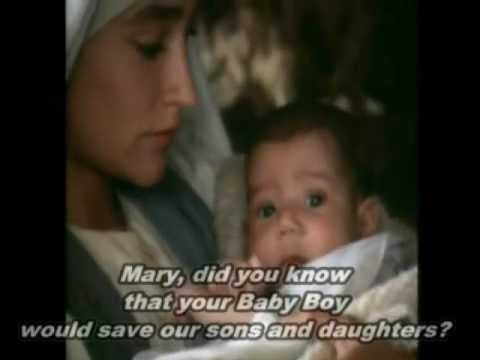 Mary Did You Know--clay Aiken With Lyrics video