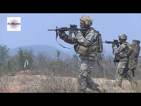 U.S. Soldiers Participate in Live-Fire Exercise at Ban Dan Lan Hoi, Sukhothai, Thailand