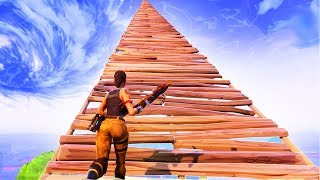 BUILDING A SKY FORTRESS! (Fortnite: Battle Royale EPIC Fails)