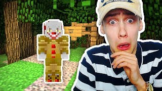 PENNYWISE (IT) CLOWN IN MINECRAFT OPROEPEN! (KILLER CLOWN )