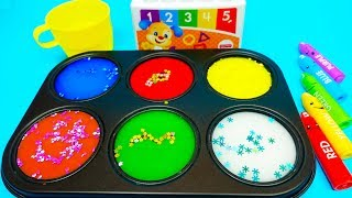 How To Make Frozen Paint with Colors Tube videos part 2