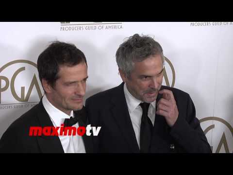 Alfonso Cuaron and David Heyman 2014 PGA Awards Red Carpet Arrivals