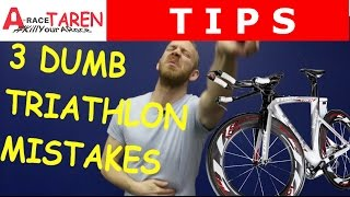 3 Beginner Triathlon Mistakes I Made And How You Can Avoid Them
