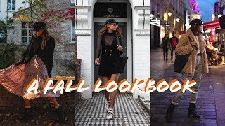 a fall lookbook (what i wore on vacation in europe)