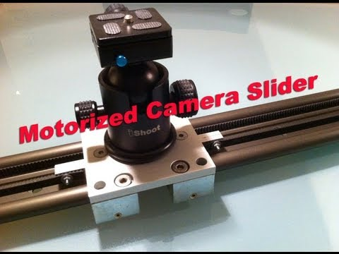 Motorized Camera Slider - Do It Yourself