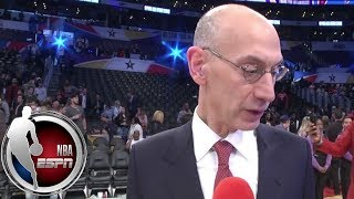 NBA commissioner Adam Silver: 'It sounds like we're gonna have a televised draft next year' | ESPN