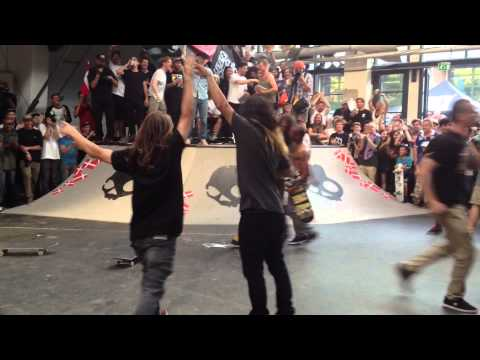Evan Smith Just Shut Down Copenhagen Pro 2013: Frontside Flip Nosepick