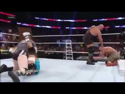 John Cena,Sheamus,Ryback & Team Hell No vs  The Shield,Big Show & Ziggle