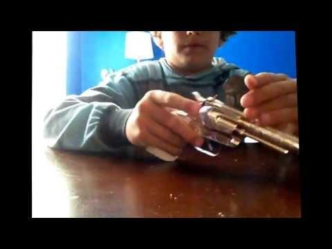 Cap Gun Die cast metal