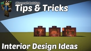 Minecraft Building :: Tips & Tricks - Interior Design Ideas
