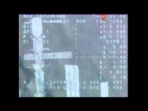 New Crew Docks to ISS