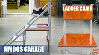 Metal Ladder Chair | JIMBO'S GARAGE