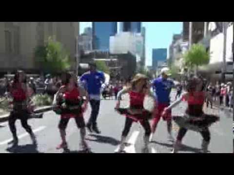 badtameez Dil Masala Fitness Candi Soo -diwali Fest Auckland video