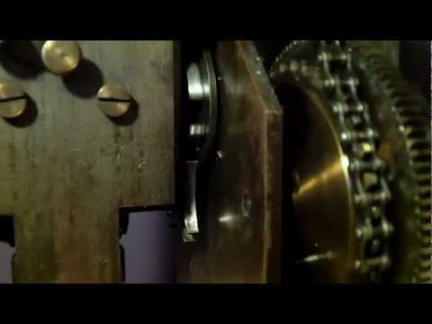 Early movie camera - projector mechanism