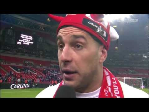 Pepe Reina - Interview Carling Cup Final 2012 (HD)
