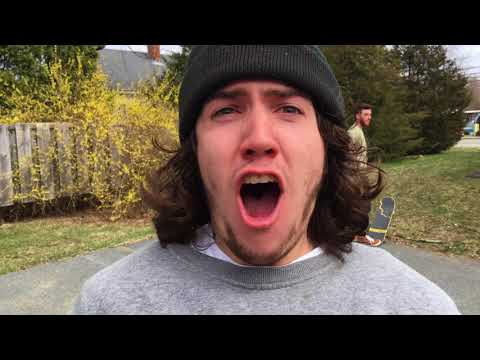 BRO SICK STREET SKATEBOARDING Middleboro Ma with Shetler, Mansolillo and Curran