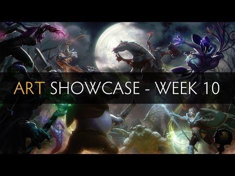 Dota 2 Art Showcase - Week 10