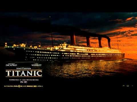 Titanic Theme - ''hymn To The Sea'' video