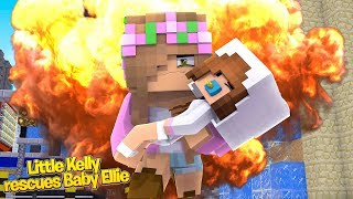 LITTLE KELLY RESCUES BABY ELLIE! | Minecraft Little Kelly