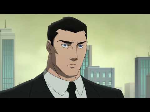 Дэмиэн прибывает в офис Брюса Уэйна (Сын Бэтмана 2014)