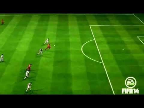 My amazing goal on FIFA 14 with Burak Y�lmaz Galatasaray