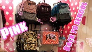Victoria's Secret Pink Backpacks | Victoria's Secret Pink Back to School Shopping 2018