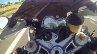 BMW S1000RR Top Speed 300+ on Turkish Highway