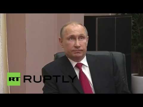 Russia: Putin discusses Sochi Olympics legacy with IOC President Thomas Bach
