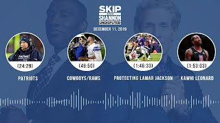 Patriots, Cowboys/Rams, Protecting Lamar Jackson, Kawhi Leonard | UNDISPUTED Audio Podcast