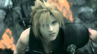 Cloud vs Sephiroth AMV One Winged Angel