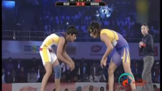 Pro Wrestling League 2015: Vinesh Phogat Vs Ritu Phogat-21st Dec | Dilli Veer – Mumbai Revanta