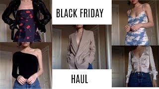 BLACK FRIDAY HAUL + TRY ONS | Sabina Fulmer