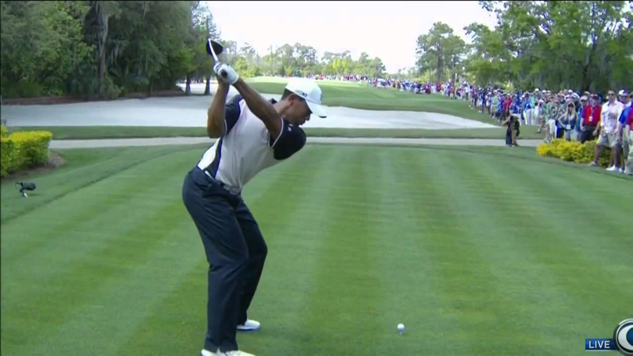 Tiger Woods swing vision 2012 driver - YouTube