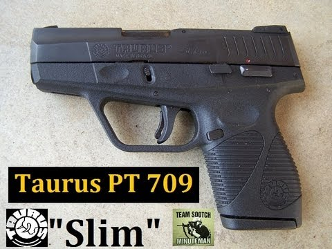 Taurus PT709 Slim 9mm Pistol Review