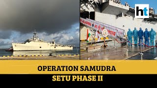 Watch: INS Jalashwa to bring back 700 stranded Indians from Sri Lanka