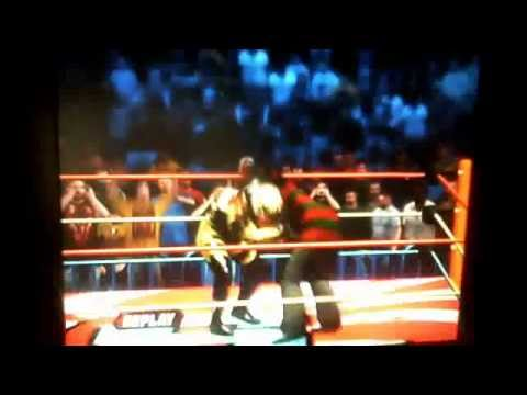 WWE 12 = Freddy Krueger vs. Goldust