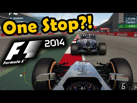 F1 2014 Gameplay Silverstone 50% Race - Mclaren Jenson Button
