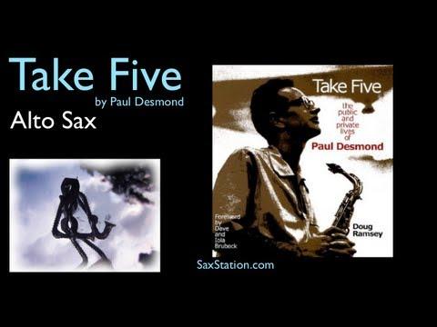 How to Play Take Five on Alto Sax (First Phrase) Alto Saxophone