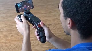 Joystick Pistola Bluetooth Ipega Controller Gun 9057 Android Phantom para Celulares e Tablets