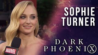 Sophie Turner answers some burning questions LIVE from the X-Men: Dark Phoenix Premiere