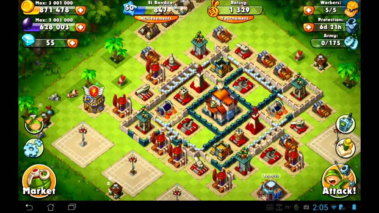 Jungle heat update quot clan hq is out quot youtube