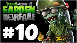 Plants vs. Zombies Garden Warfare Walkthrough - EVIL ZOMBIES!! Part 10 (Xbox One 1080p HD)