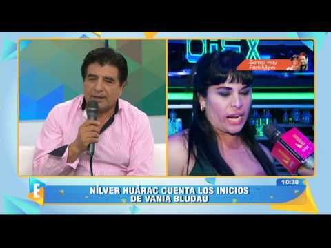 Nílver Huárac Se Solidariza Con Vania Bludau Y Revela Cómo La Conoció