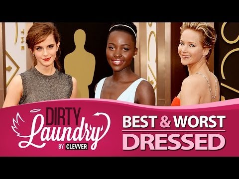 Best and Worst Dressed Oscars 2014  - Dirty Laundry