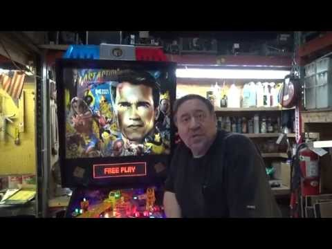 #636 Data East LAST ACTION HERO Pinball Machine with Moving Crane! TNT Amusements
