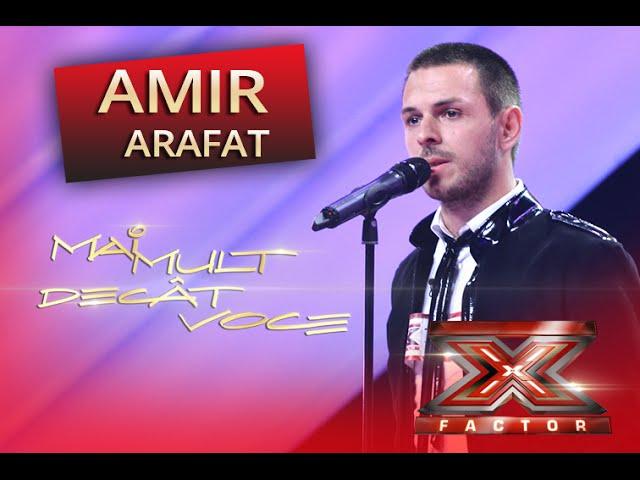 Tarkan - Dudu. Vezi aici cum cântă Amir Arafat la X Factor!