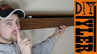 Secret Compartment Floating Shelf