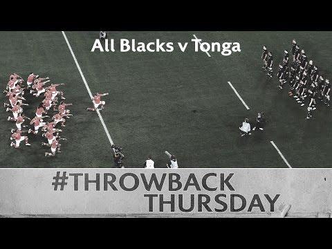 Rugby showdown: All Blacks v Tonga