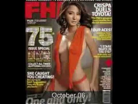 FHM Philippines Magazine Covers (Complete)