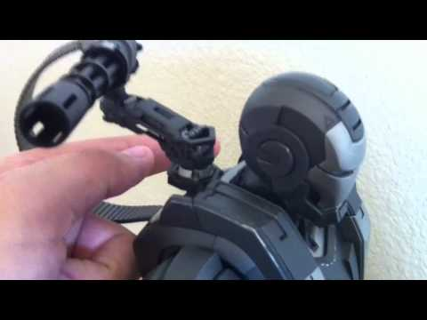 Hot Toys Iron Man 2 War Machine Review Unboxing